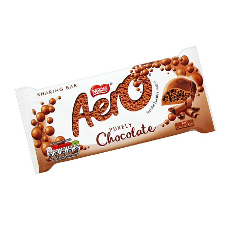 Image of Aero chocolate bar - 100g