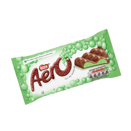 Image of Aero Peppermint Chocolate Bar 100g