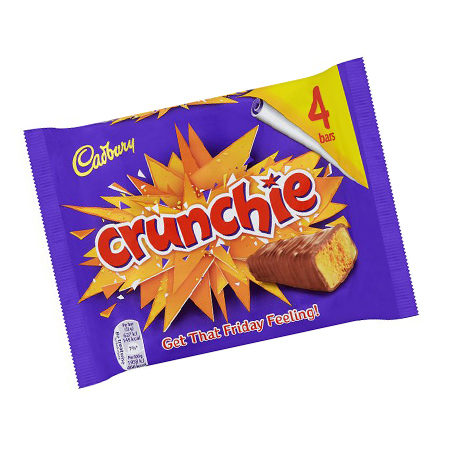 Image of Cadbury Crunchie - 4 Pack