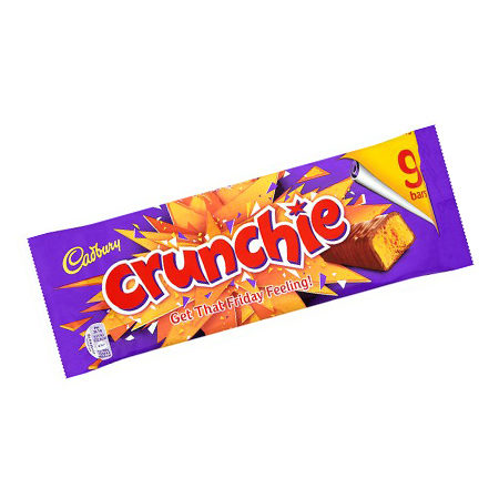 Image of Cadbury Crunchie 9 Pack