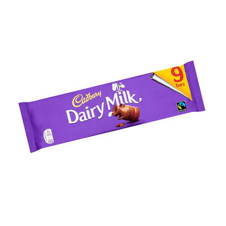 Image of Dairy Milk 9 Pack