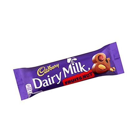 Image of Diary Milk Fruit & Nut Chocolate Bar