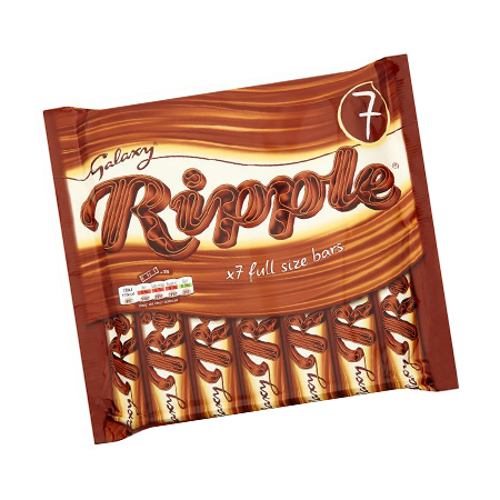 Image of galaxy ripple chocolate bar - 7 pack