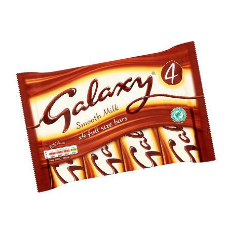 Image of galaxy smooth milk bar - 4 pack