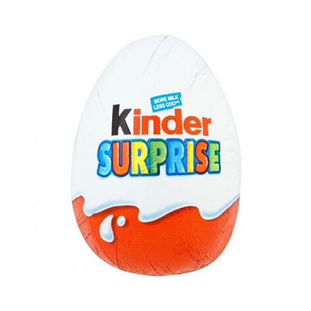 Image of Kinder Surprise Egg - UK chocolate for delivered worldwide