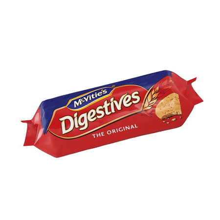 Image of McVities digestives biscuits