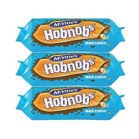 Image of McVities Hob Nobs Triple Pack