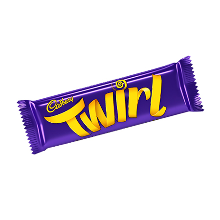 Image of Cadbury Twirl. UK chocolate for Expats